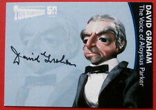 THUNDERBIRDS 50 YEARS - David Graham (Parker) Autograph Card - DG1 - Unstoppable