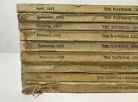 1920's The National Geographic Magazine Nice Piece of History! You Choose