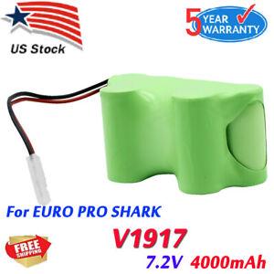 Newest 4000mAh Battery for Euro Pro Shark XB1918 V1917 V1950 VX3 Vacuum Sweeper