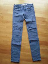 5-Pocket-Hose Skinny ZARA TRF blau Größe 34 / XS