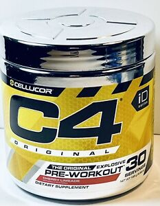 """C4 Original Pre Workout Dietary Supplement-30 Servings """"CHERRY OR ICY BLUE RAZZ"""""""
