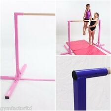 Gymnastic fixed mini bar PINK   by GYM FACTOR LTD Home of the GYMNASTICS BEAM