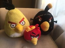 Angry Birds Red Plush Toy Without Sound Frankenstein Girl Bow