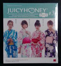 2019 Juicy Honey Plus #3 * SEALED BOX * Yu, Mahiro, Arina Hashimoto & Yui Hatano