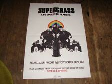 SUPERGRASS LIFE/PLANETS!!!!!RARE FRENCH PRES/KIT/POSTER