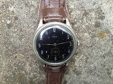 Vintage Rare OMIKRON WW2 Oversized 39mm Germany Military Watch 40's