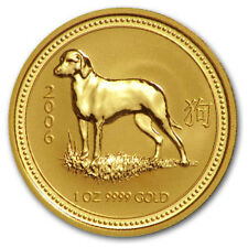 2006 1 oz Gold Lunar Year of the Dog Coin (Series I)