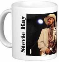 Stevie Ray Vaughan Photo on 11 Oz Coffee Mug
