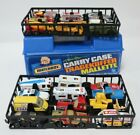 Vintage Matchbox Collection of 24x Diecast Models with Blue Carrying Case