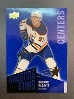 2018-19 Upper Deck Shooting Stars Centers #SSC-1 Connor McDavid Edmonton Oilers