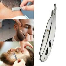Classic Straight Steel Edge Barber Razor Folding Shaving Knife