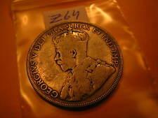 Canada Rare Key Date 1931 Silver 50 Cent Coin ID#Z64.