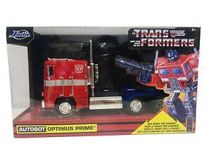 Jada Transformers Autobot Optimus Prime 1:24 Scale New