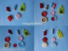 Vintage 1960 Dolly's Makeup Lipstick Compact & Palmer Plastics Lot Barbie Tammy
