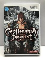 Castlevania: Judgement (Nintendo Wii, 2008) Complete w/ Manual - Tested Working