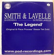 "Smith & Lavelle - The Legend 12"" VG+ UK POD12017 Vinyl 2003 Record"