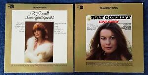 RAY CONNIFF - ALONE AGAIN NATURALLY + LOVE STORY - COLUMBIA  - (2) QUAD LP LOT