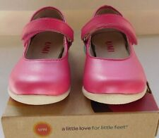 Umi Ria Fuchsia/Pink Leather Mary Jane Shoe-Sz Toddler 5.5/Eu 21 - New - Rt $64