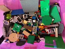Genuine Lego 500g 1/2 KG Job Lot Mixed Bundle Bricks BasePlates Wheels Doors
