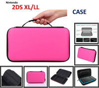 PINK-Carry Storage Hard Protective [HANDLE] Case For New Nintendo 2DS XL/LL Game