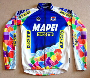 "EXCELLENT CONDITION MAPEI QUICKSTEP PRO TEAM JERSEY. SPORTFUL 42"" CIRCUMFERENCE"