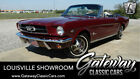 1965 Ford Mustang  Vintage Burgundy 1965 Ford Mustang Convertible 289 CID V8 4 Speed Manual Availab