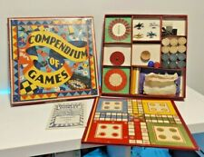 BGL Compendium of Games Antique Board 24 Games with Instructions Rare