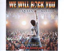 CD QUEEN AND BEN ELTONwe will rock youEX (A1505)