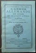 L'armée allemande - Son histoire, son organisation actuelle / 1886
