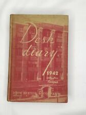Desk Diary 1942 with New Recipes Anna E Boller