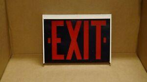 Dual-Lite Exquisite series DRWW Incandescent Exit Sign