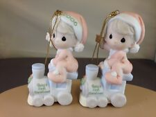 Precious Moments Baby's First Christmas Boy YOU PERSONALIZE  h/ornament