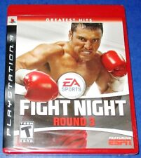 Fight Night Round 3 PlayStation 3 *New! *Factory Sealed! *Free Shipping!