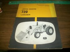 John Deere 720 Loader Operators Manual OM-U16339U