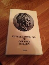 """Buch """"Kupfer-Sammlung zu Goethes Werken"""""""