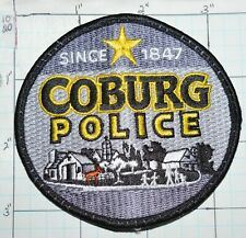 OREGON, COBURG POLICE DEPT PATCH