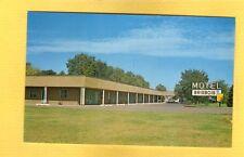 Prairie Du Chien,WI Wisconsin Motel Brisbois Mr & Mrs Art Frydelund circa 1960's