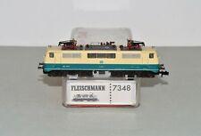 N Scale Fleischmann 7348 DB 111 Blue & Beige Electric Locomotive