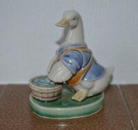 Collectible Peter John PJ figurine of Mama Duck or Goose