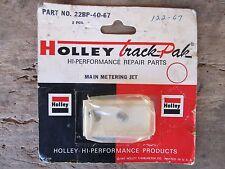 NEW Holley Carburetor main metering jet Pair 22BP-40-67