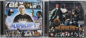 The Guerilla Movement Playlist Volume 1 and 2 DJ Kay Slay Mo Suntzu Kali CD