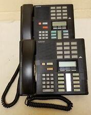 Nortel M7310, Norstar M7310, Meridian M7310, NT8B20 Black Telephones Set of 2