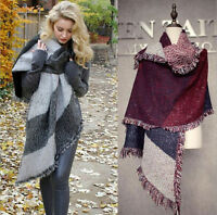 Women's Winter Thick Warm Pashmina Cashmere Stole Scarves Scarf Shawl Wraps New