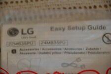LG 22MB35PU 24MB35PU Computer Monitor Kit