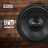 """CT Sounds Tropo 12 Inch D2 450 watt RMS 12"""" Dual 2 Ohm Car Subwoofer Power Sub"""