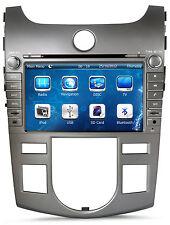 "8"" Car Radio CD DVD Player GPS Navigation For KIA Cerato Forte Koup Shuma Auto"