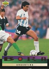 UPPER DECK USA COUPE DU MONDE 94 Bora CARTE ARGENTINE