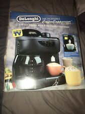 DeLonghi NIB CoffeeCappuccino Machine & Milk Frother Model CC80