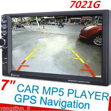 HD 1080P 7'' Touch Screen In-dash Car GPS Navigation Bluetooth Stereo MP5 Player