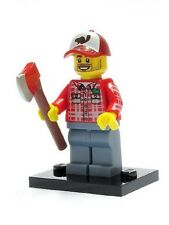 Real Genuine Lego 8805 Series 5 Minifigure no. 8 Lumberjack